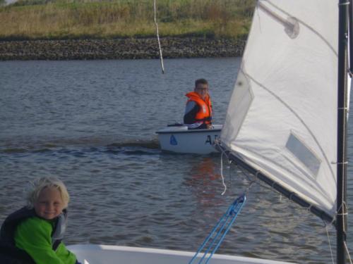 Segeltour zur  Schleuse mit  Übernachtung 2014 (16)