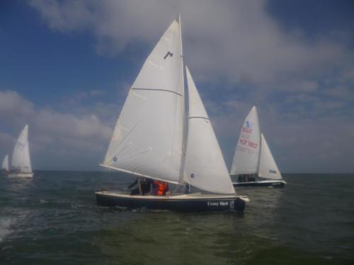 Segeltour zur  Schleuse mit  Übernachtung 2014 (1)