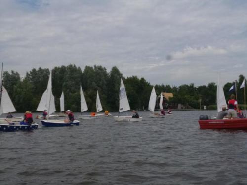 Regata am kleinen Meer  Opti mit Thalea und Jan Dirk  Thalea machte den 6 Platz Jan Dirk den 2 Platz (10)