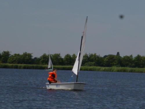 Regata am kleinen Meer  Opti mit Thalea und Jan Dirk  Thalea machte den 6 Platz Jan Dirk den 2 Platz (12)