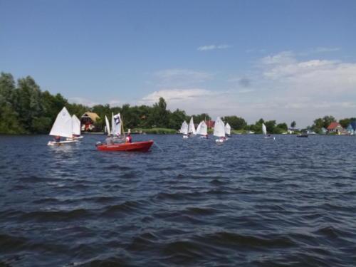 Regata am kleinen Meer  Opti mit Thalea und Jan Dirk  Thalea machte den 6 Platz Jan Dirk den 2 Platz (13)