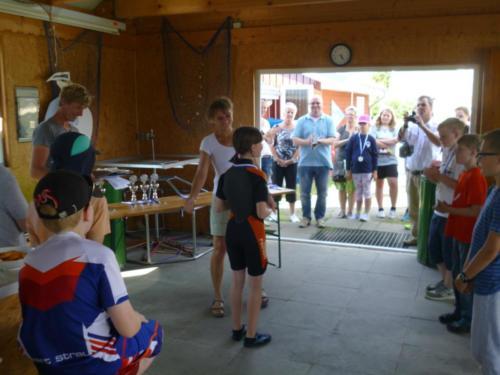 Regata am kleinen Meer  Opti mit Thalea und Jan Dirk  Thalea machte den 6 Platz Jan Dirk den 2 Platz (16)