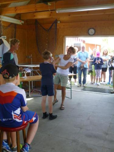 Regata am kleinen Meer  Opti mit Thalea und Jan Dirk  Thalea machte den 6 Platz Jan Dirk den 2 Platz (18)