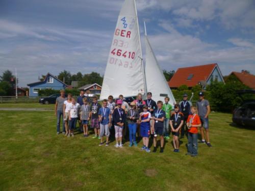 Regata am kleinen Meer  Opti mit Thalea und Jan Dirk  Thalea machte den 6 Platz Jan Dirk den 2 Platz (20)