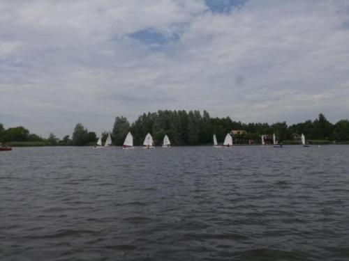 Regata am kleinen Meer  Opti mit Thalea und Jan Dirk  Thalea machte den 6 Platz Jan Dirk den 2 Platz (6)