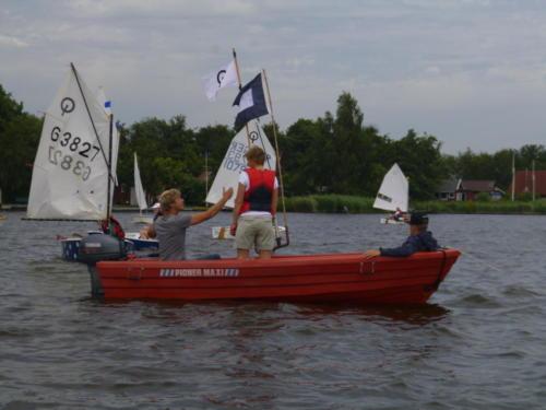 Regata am kleinen Meer  Opti mit Thalea und Jan Dirk  Thalea machte den 6 Platz Jan Dirk den 2 Platz (9)